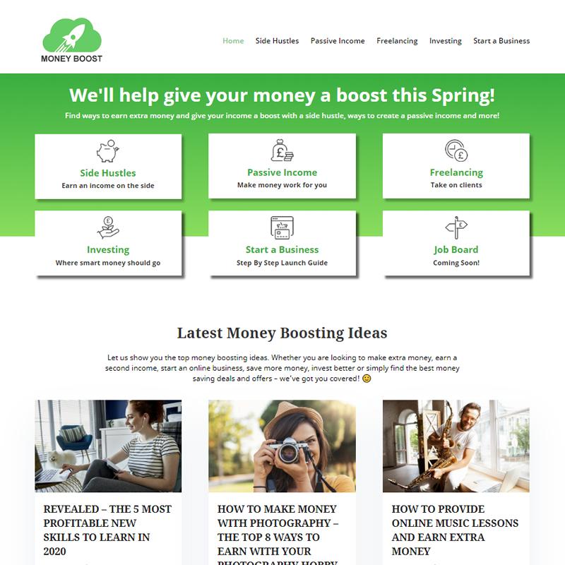 Money Boost Portfolio