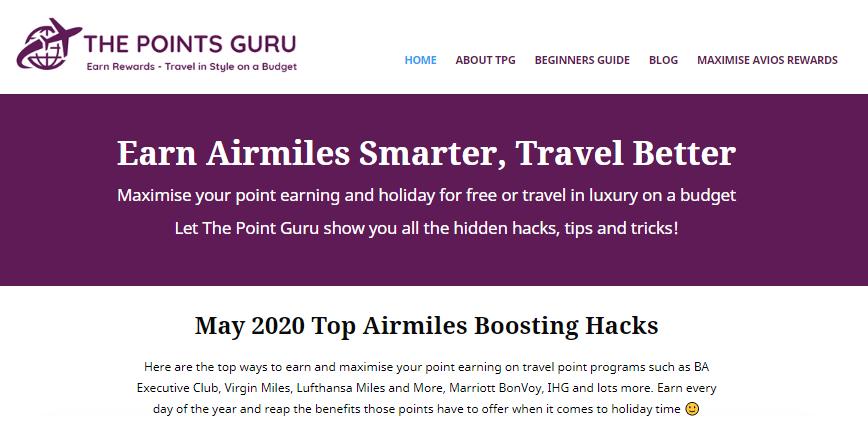 The Points Guru Portfolio