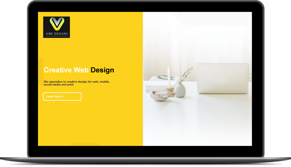 Vibe Designs Laptop